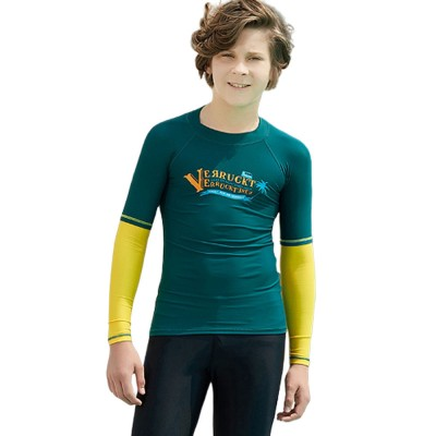 Beach Sunshade Swimsuit for Children, Students, Outdoor Sunblock Bathing Suit, Quick-dry Long Sleeve Beach Suit Diving Dress