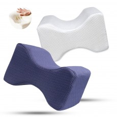 Memory Foam Pillows, Provide Ultimate Support for Back Side Sleepers with Pillow Cover Knee Pillow