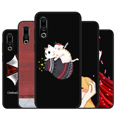 Soft Silicone TPU Cover Case, Thin Phone Protection Shell, Shock Absorption Soft Cover for Meizu 16S