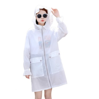 Women UV Protection Jacket, Ultra Thin Breathable Sunscreen Summer Clothes for Outdoors 2019