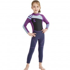Diving Suit for Girls, 2.5MM One-piece Diving Dress, Thermal Diveing Surfing Dress Snorkeling Jumpsuit, Winter Swimsuit 2019