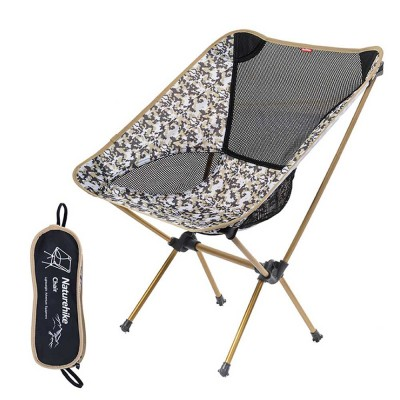 Foldable Outdoor Chair, Durable Oxford Fabric Stools with Aluminum Frame for Camping Fishing Cycling Traveling