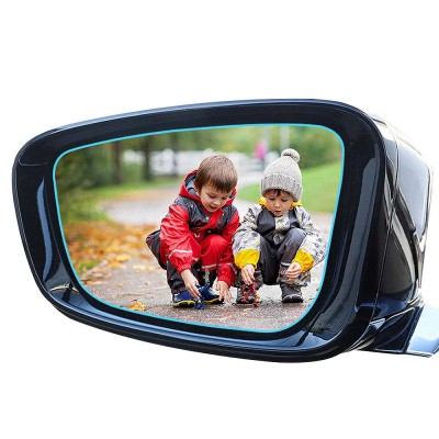 HD Waterproof Anti-fog Mirror Sticker for Car Rear View, Anti-glare Rain-proof Automobile Mirror Pad for Nissan Motor