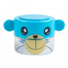 Cute Cartoon Pill Case Tablet Crusher for Kids, Pill Powder Grinder with Compartments for Storing 1 Day Dose.