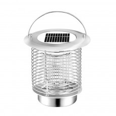 Solar Mosquito Zapper, Waterproof Solar Powered LED Light Pest Bug Zapper, Insect Mosquito Killer for Ground Garden Lawn Residential, Commercial, Industrial