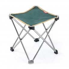 Outdoor Foldable Stool, Lightweight Oxford Fabric Stools with Aluminum Holder, Portable Folded Stool for Camping Fishing Cycling Traveling
