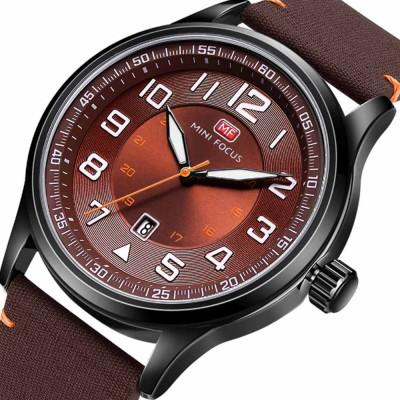 Fashion Japanese Movement Men's Watch, Calendar Luminous Waterproof Watch, Exquisite Nylon Strap Sport Wristwatch