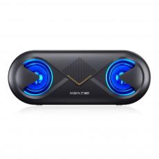 Cellular Wireless Bluetooth Speaker, Portable Desktop Home Speaker, Bionic Eye Design Subwoofer with Alarm Clock