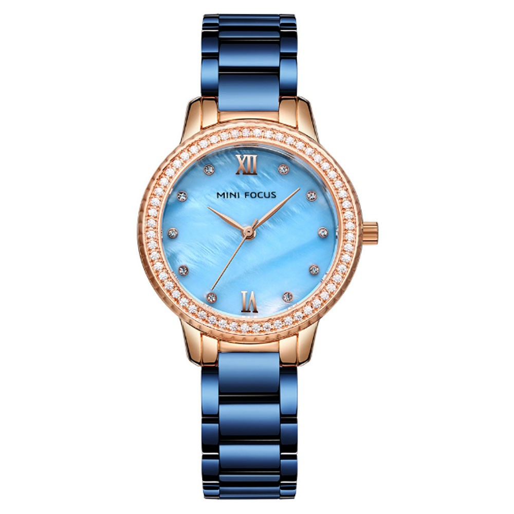Trendy Luxury Diamond-studded Ladies Watch Fashion Business Steel Strap Women's Watch