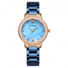 Trendy Luxury Diamond-studded Ladies Watch Fashion Business Steel Strap Women's Watch