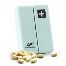 Mini Portable Medicine Box, Medicine Classification Storage Box, Moisture-proof Convenient Carry Classification Box