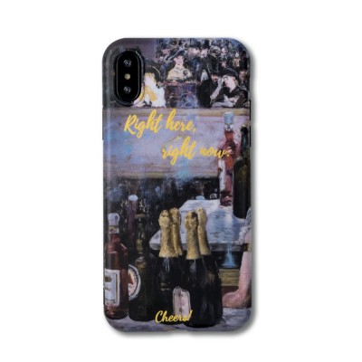 Oil Painting Bottle Apple Mobile Phone Case, Retro All-Inclusive Soft Shell for iPhone Max, iPhone XS, 8 plus, 6s, 7 plus, X, 6