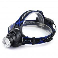 Retractable Adjustable Waterproof LED Strong Light Zoom Outdoor Fishing Bead Lamp with Elastic Light Belt