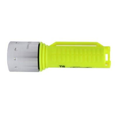 Non-slip & Waterproof Strong Light Diving Torch with High-grade Wrist Rope & Stainless Steel Lamp Holder