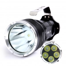 Non-slip & Waterproof Strong Light Searchlight with Probe Handle & Waterproof Rubber Ring