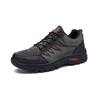 Outdoors Casual Traveling Men Hiking Shoes, Wearable Anti-slip Walking Trekking Sneakers for Men