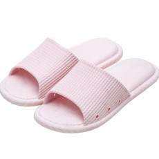 Summer Slippers PVC Anti-slip Soft for Couples Stain Resistant Comfortable Household Bathroom Slippers 2019 New