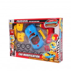 Baby Child Christmas Gift Kids Boy Disassembly Assembly Classic Drive Car Toy Detachable Electric Screwdriver