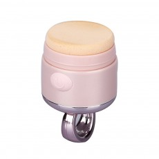 Compact & Portable High-frequency Vibrating Mini Electric Powder Puff with One-touch Operation Washable Function