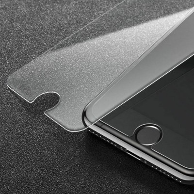 Tough Transparent Tempered Glass iPhone Screen Protector, Breaking-proof Scratching-proof Protective Film for iPhone 5 5S SE 6S Plus 7 8 X
