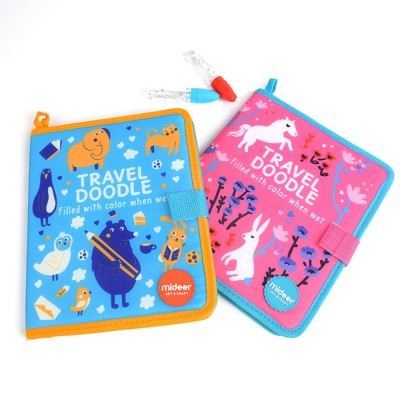 Children Drawing Book, Early Childhood Education Drawing Book, Magic Repeated Cognitive Painting Book Pink Blue Option