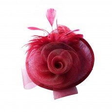 Further Clip for Wedding, Hair Accessories for Cocktail Parties, Headwear for Banquet Rose Shape