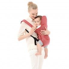 0-36 Months Babies Carrier, Multifunctional Carrier Backpack with Crossed Baby Sling Shoulder Strap, Front Hug Straps Cotton Material Baby Carrier Pognae