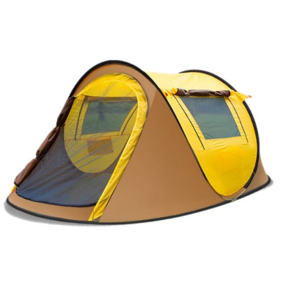 Full-automatic Quick Opening Tent with Two Doors Two Windows, Superior Sleeping Tent for Hiking Outdoor Activities, Two People Shelters
