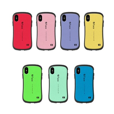 Original iface Mall Phone Case for iPhone X, Silicone Hard Strong Protective Phone Shell, Back Cover for iPhone X, iPhone 10 Slim Fit Shockproof