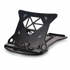 Height Adjustable Foldable Laptop Stand for All Notebook Computer, Portable Notebook Desktop Erector, Base Laptop Stand