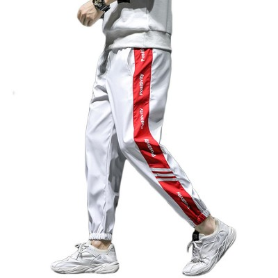 2019 Casual Harem Pants for Male Spring Summer, Mid-rised Slim-fit Pants for Man, Sports Slacks Men's Trousers