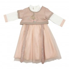 Chinese Style Embroidered Long Skirts Special Two-piece Suit Han Chinese Clothing for Girls