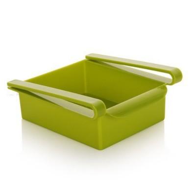 Refrigerator Storage Box, PP Kitchen Drawer-type Preservation Box, Refrigerator Interlayer Tray Commodity Shelf Organizer Container