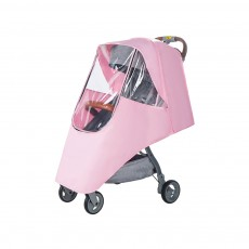 Waterproof Breathable Transparent Baby Stroller Rain Cover, Universal Infant Bugger Pushchair Rain Shield All Season