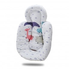 New-Born Baby Electric Stroller Carrier Quality Cotton Pad, Cut Carton Painting Child Infant Safety Seat Cushion Mat