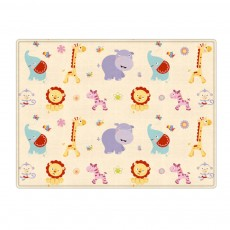 New Nontoxic Odorless LDPE Material Thicken Play Blanket for Baby, Cute Pattern Floor Crawling Mat Indoor Outdoor