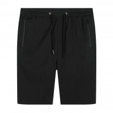 Mens Casual Classic Shorts, Fit Hybrid Chino Shorts, Drawstring Summer Beach Pants with 2 Pockets