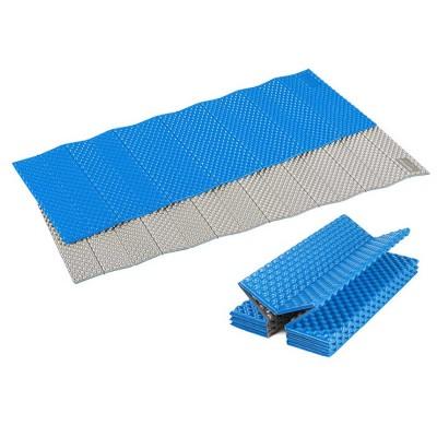 Moisture Proof Sleeping Pad, Portable Eva Aluminum Film Floor Mat, Seat Cushion Pad for Outdoor Camping Picnic