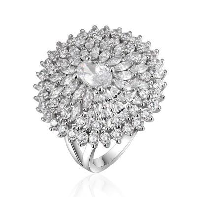 Sterling Silver Rhinestone Rings