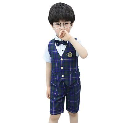 Children\u0027s Suit Waistcoat Suit, Korean Flower Children\u0027s Dress Suit,  Handsome Boy Suit