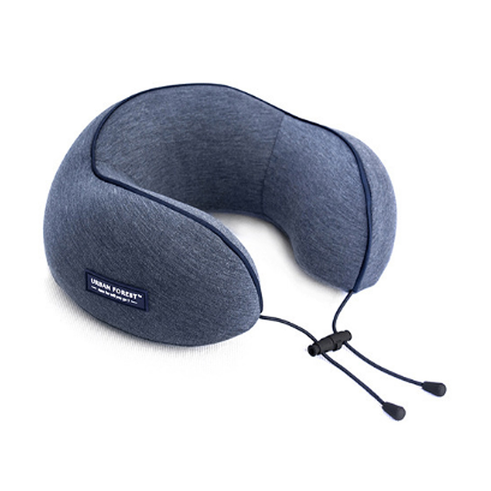 Memory Foam U-Shaped Pillow Comfortable Breathable Neck Pillow Travel Pillow for Home Car Airplane