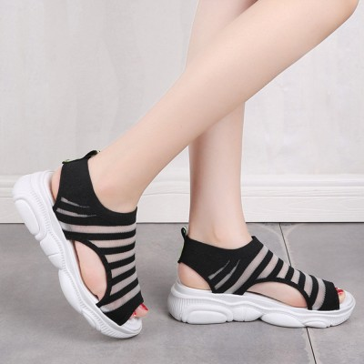 Ladies' Open Toe Sandals, Fish Mouth