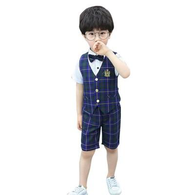 Children's Suit Waistcoat Suit, Korean Flower Children's Dress Suit, Handsome Boy Suit