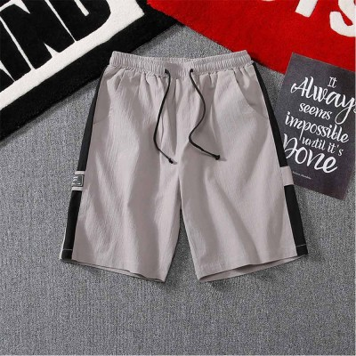 Minibee Mens Shorts Casual Classic Fit Drawstring Summer Beach Shorts with Elastic Waist and Pockets