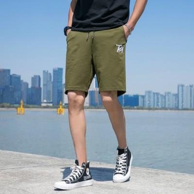Mens Summer Shorts Casual Drawstring Beach Shorts with Elastic Waist Pockets