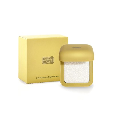 Elegant Rhyme Brightening Powder, Fairy Diamond High Gloss Powder, Cosmetic Disk With Sparkling Pearlescent