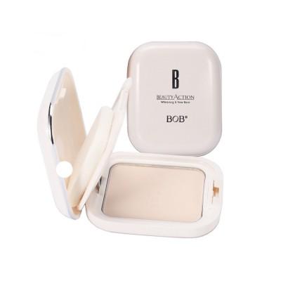 Oil Control Concealer Natural Tone Powder Foundation Soft Breathable Cosmetics Velvet Matte Pressed Powder Foundation