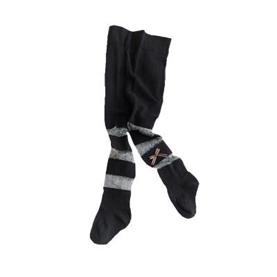 Spring Summer Children's Pantyhose All Cotton Metallic Yarn Mesh Thin Infant Fashion Stockings Two-needle Baby Leggings