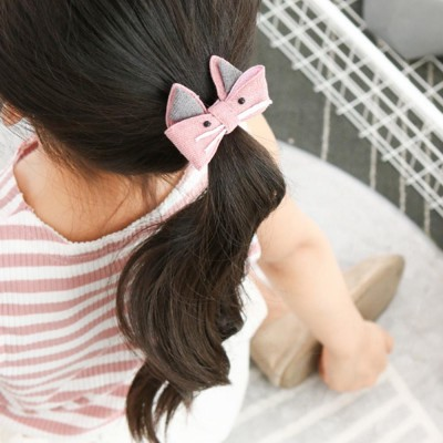 8 Pieces Hair Band Set Adorable Bowknot Elastic