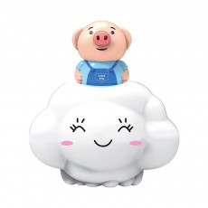 Bath Toy for Children Educational Toys Deer Pig Cloud Shaped Water Playing Toy